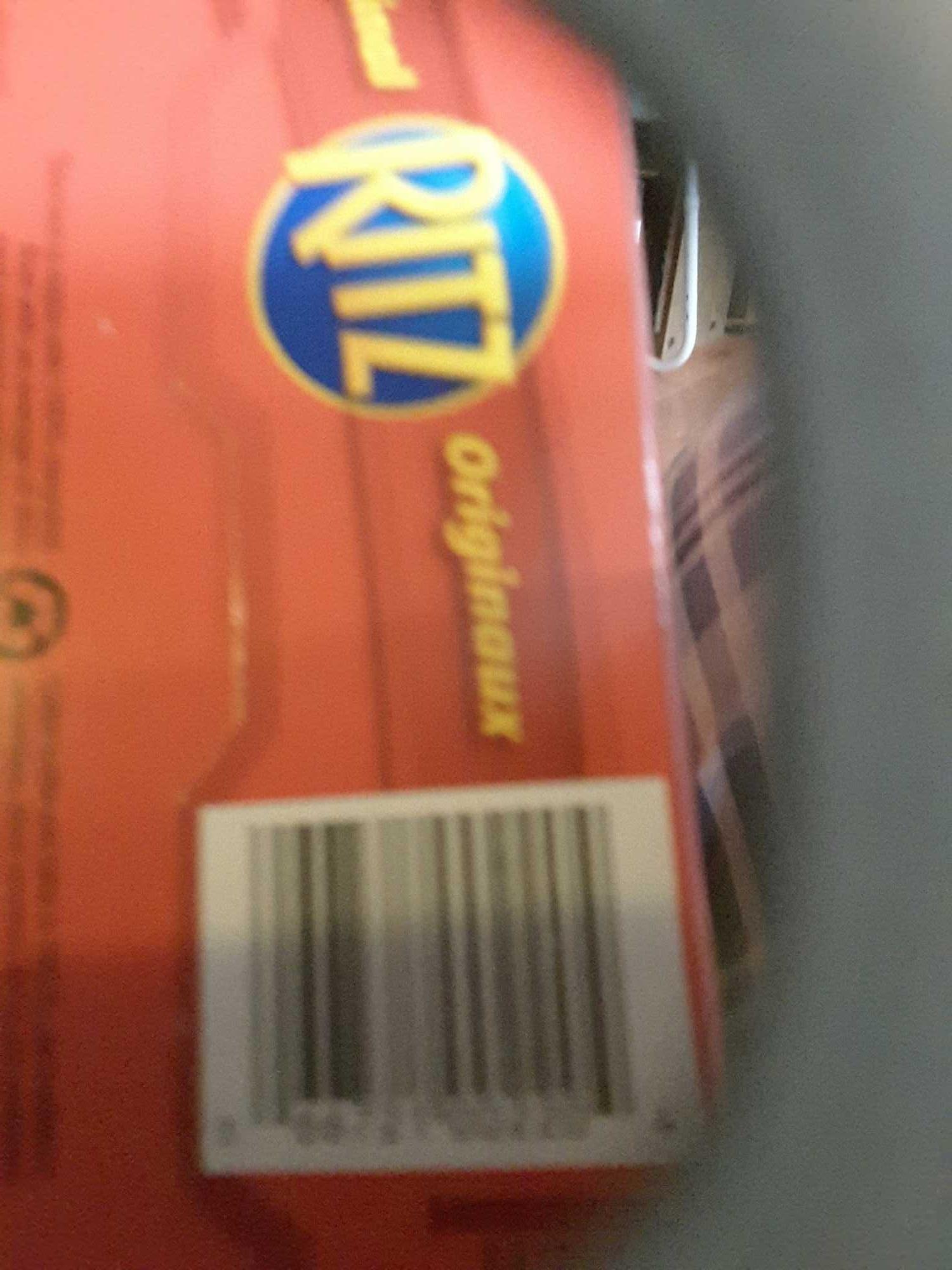 Biscuits Ritz Originaux - Product - fr