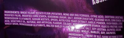 Crispers - Ingredients - en