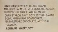 The Original Oreo - Ingredients