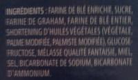 Honeymaid Graham Crumbs - Ingredients - fr