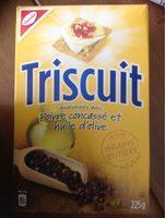 Craquelins Triscuit (poivre & Huile D'olive) - Produit - fr