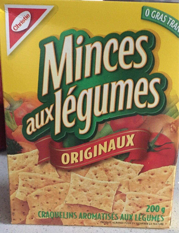 Minces aux Légumes - Product - fr