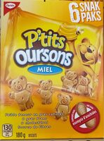 P'tits Oursons miel - Produit - fr