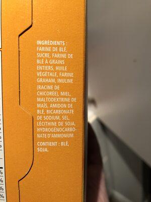 P'tits Oursons miel - Ingrédients - fr