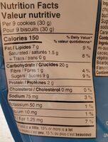 Mini chips ahoy - Nutrition facts - en