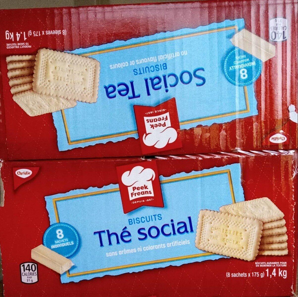 Biscuits Thé social - Produit - fr