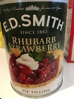 Rhubarb strawberry pie filling - Produit