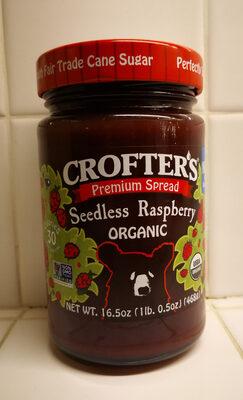 Organic Raspberry Premium Spread - Prodotto - en