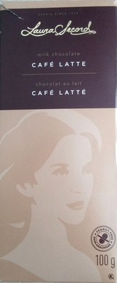 Caf 233 Latte Milk Chocolate Laura Secord 100 G