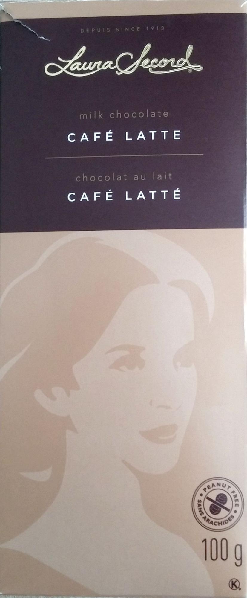 Café Latte milk chocolate - Product - en