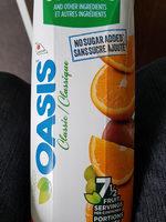Jus Mélange D'orange (non Sucré) - Product - fr