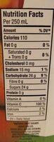 100% Jus Pur Déjeuner Pomme - Informations nutritionnelles - fr