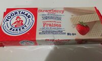 Bakery strawberry wafers - Product - en