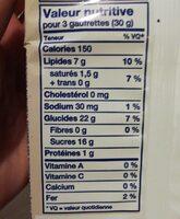 Bakery strawberry wafers - Nutrition facts - en