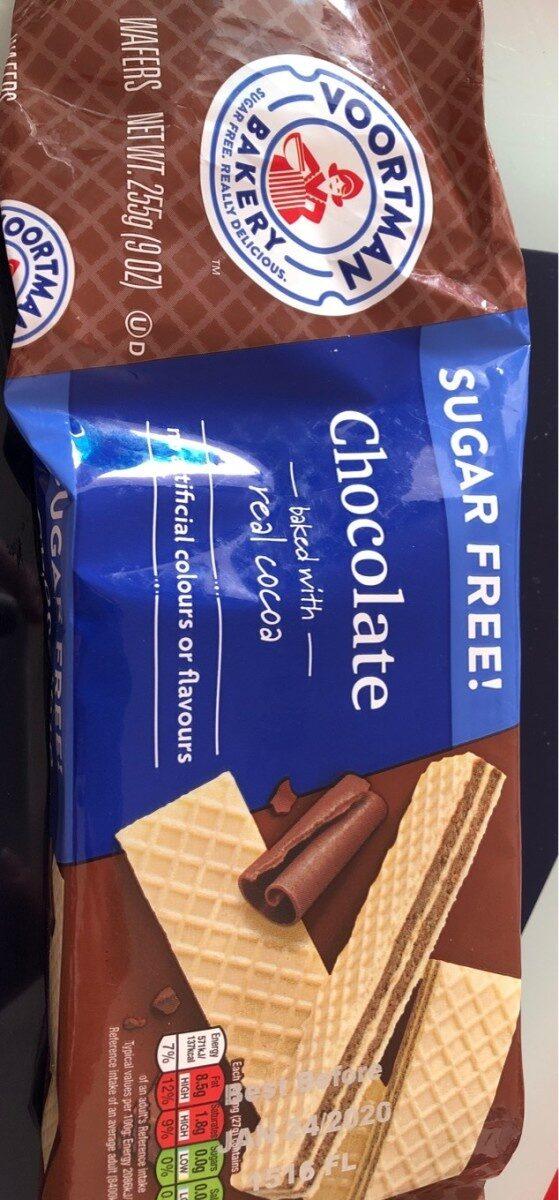 Gauffrettes au chocolat - Product