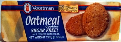 Oatmeal baked with whole grain oats cookies, oatmeal - Product - en