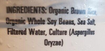 Organic Genmai Miso - 2