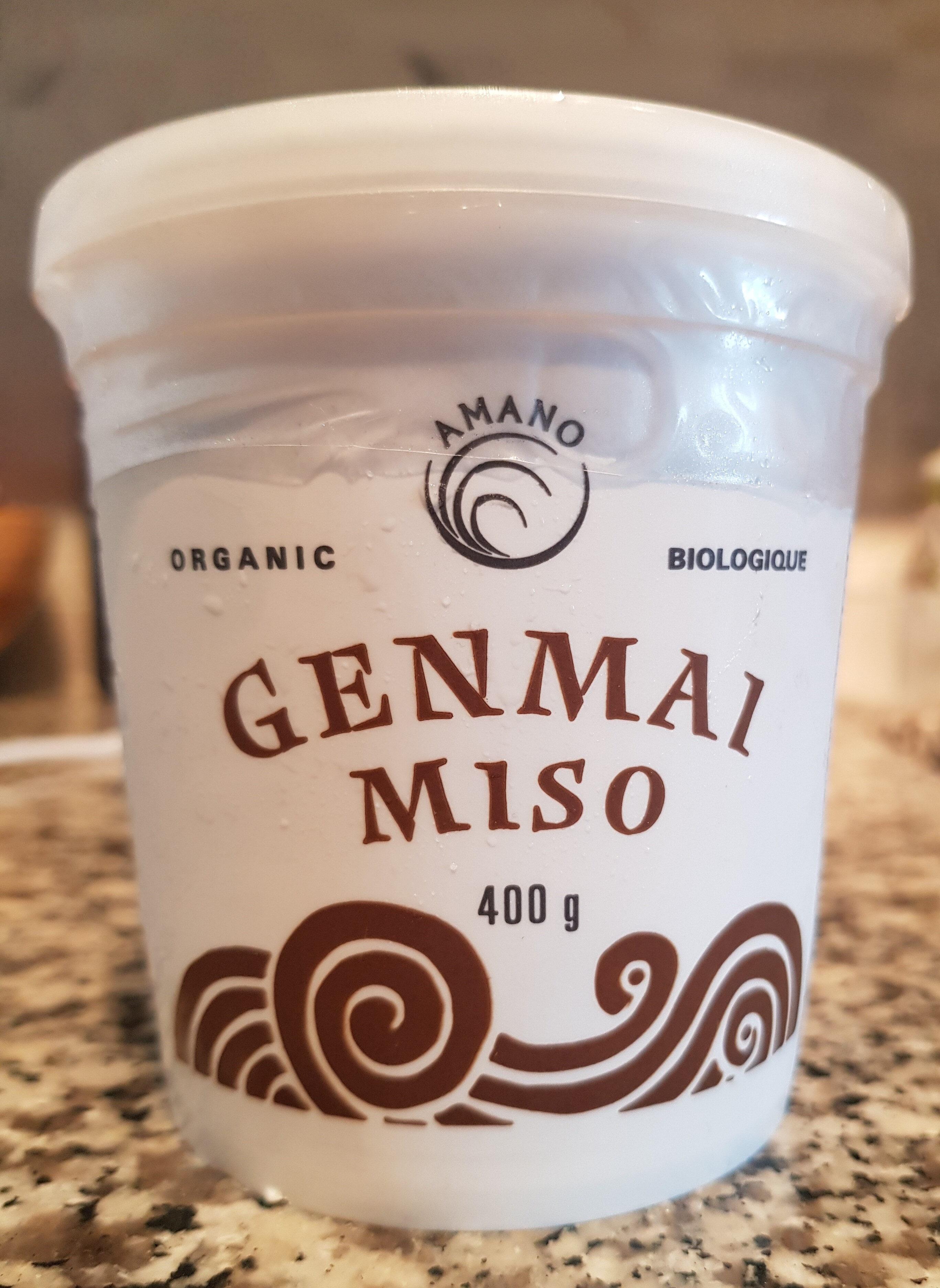 Organic Genmai Miso - Produit - en