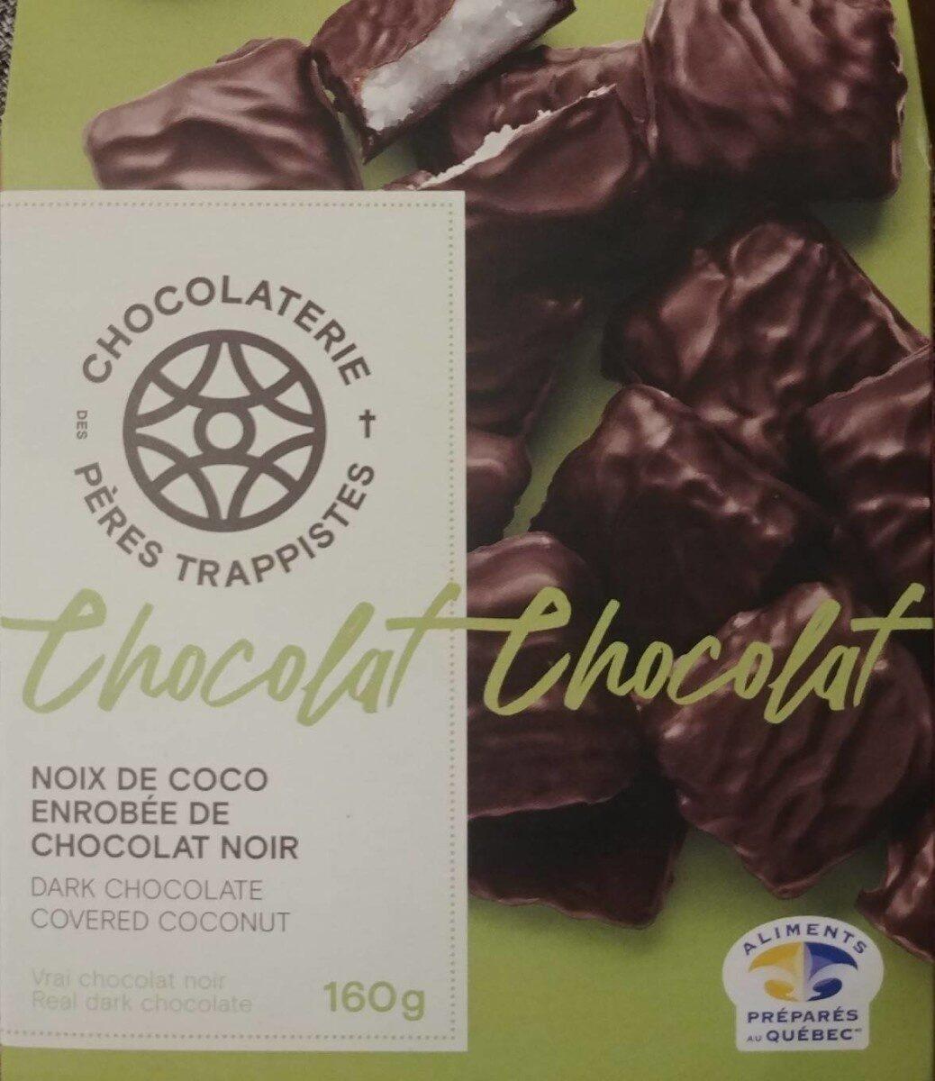 Noix de coco enrobée de chocolat noir - Product - fr