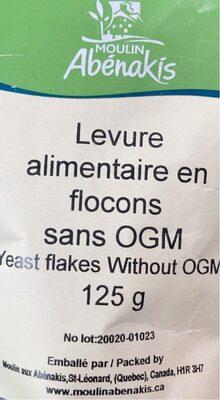 Levure alimentaire en flocons sans OGM - Produit - fr
