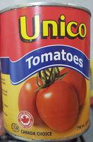 Unico Tomatoes - Product - en