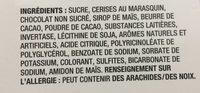 Cerises au marasquin - Ingredienti - fr