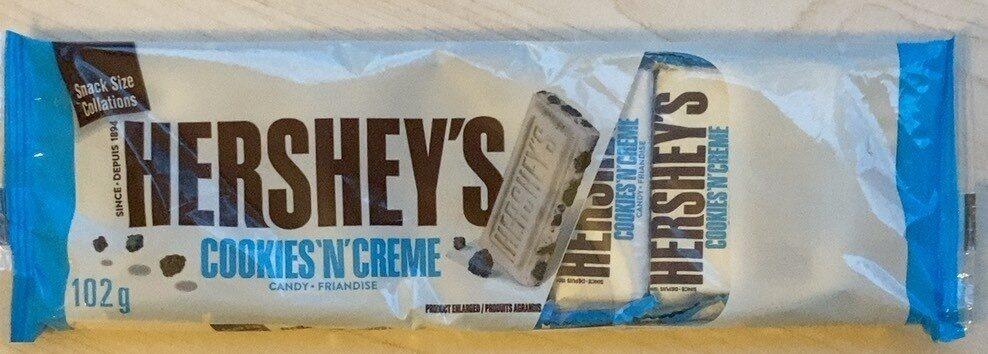 Hershey's cookies n creme - Product - fr