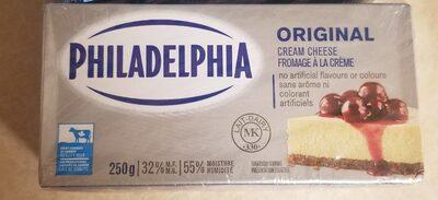 Philadelphia original cream cheese - Product - fr