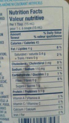 Kraft Balsamic Salad Dressing - Ingredients