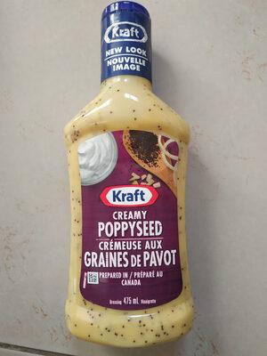 Creamy poppyseed dressing - Product