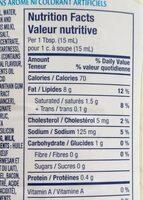 Vinaigrette (césar Et Bacon) - Informations nutritionnelles - en