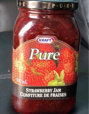 Confiture de fraises PURE - Product - fr