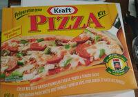 Kraft kit pizza - Produit
