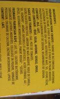 Kraft kit pizza - Ingrédients
