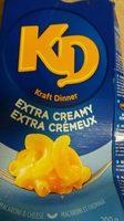 Kraft Dinner Extra Crémeux - Macaroni et Fromage - Product - fr