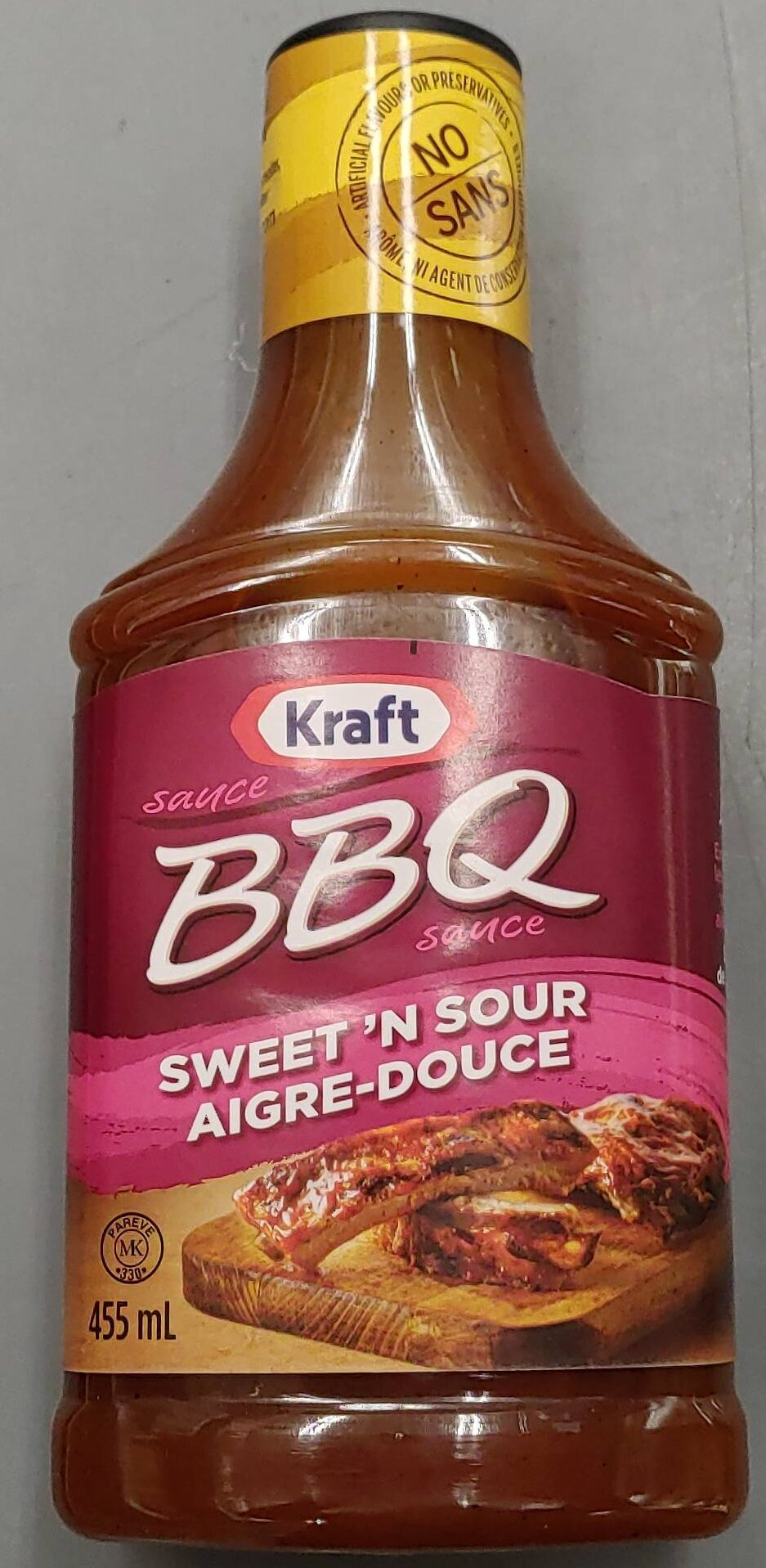 Kraft BBQ Sweet and Sour Sauce - Product - en