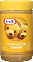 Kraft peanut butter extra creamy peanut butter - Product - fr