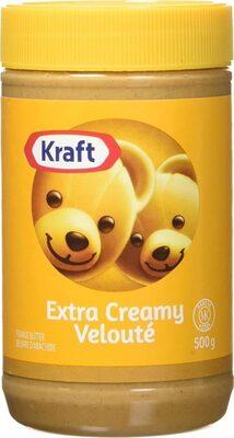 Kraft peanut butter extra creamy peanut butter - Product