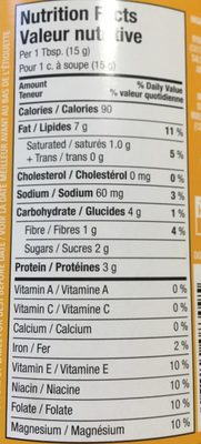 Extra Creamy Peanut Butter - Informations nutritionnelles