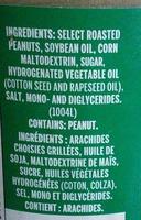 Peanut Butter Smooth - Ingrediënten