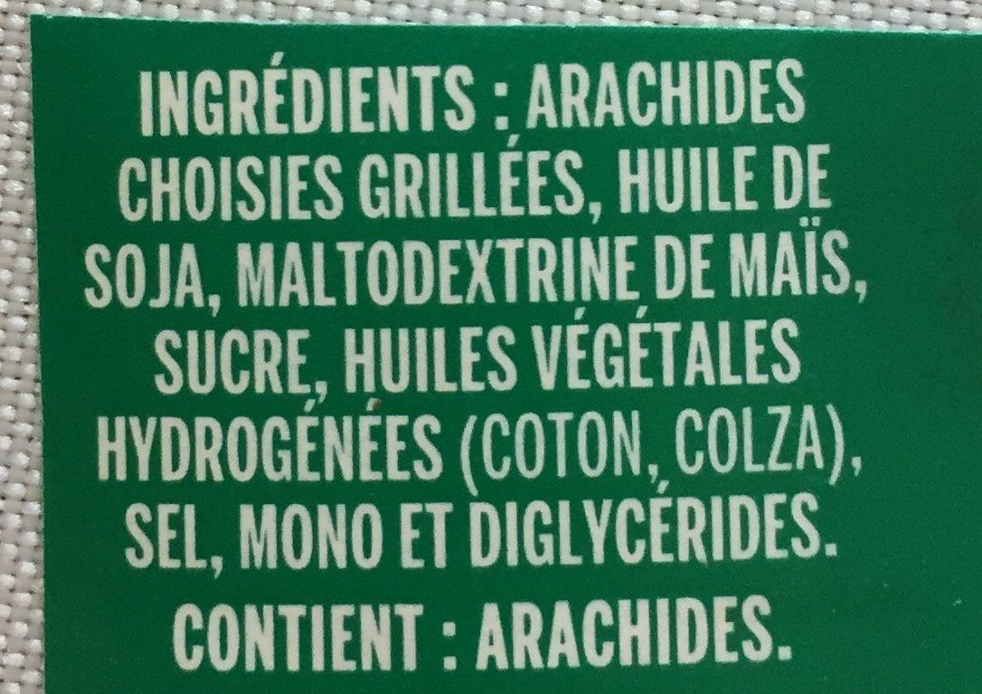 Beurre d'Arachide Crémeux - Ingrédients - fr