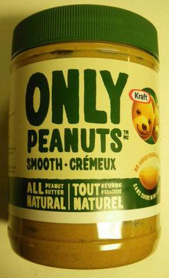 Kraft Only Peanuts Smooth - Produit - fr
