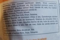 Garniture à salade - Ingrédients - fr