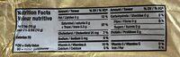 Beurre Sans lactose free - Nutrition facts - fr