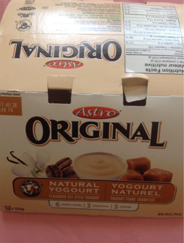 Yogourt (caramel, Cappuccino & Vanille) - Product