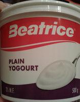 Yogourt nature - Product - en