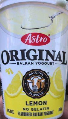 Original Balkan Yogourt Lemon - Product
