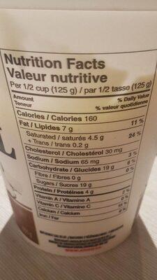 Original Yogourt Balkan - Nutrition facts - en