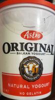Original Balkan yogurt - Product - en