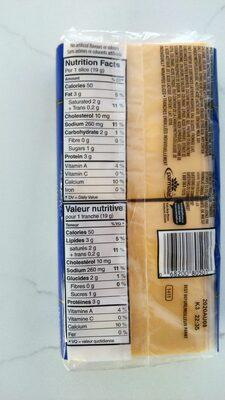 Cheddar Slices - Nutrition facts - fr